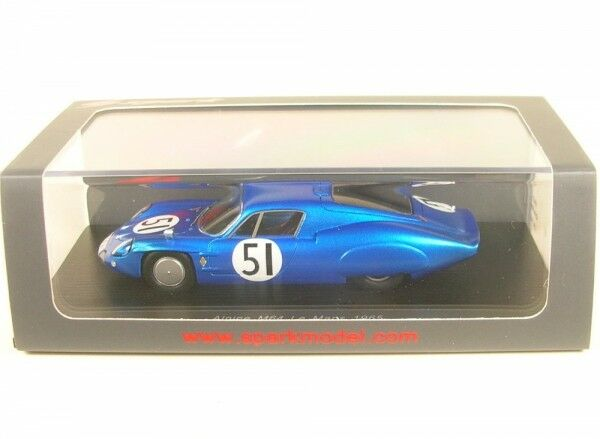 Alpine m64 n. 51 LEMANS 1965  G. Verrier-R. Masson