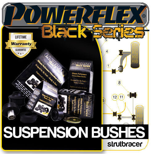 Volkswagen Polo 9N/9N3 inc GTI TDI (2002-2008) POWERFLEX BLACK SERIES BUSHES