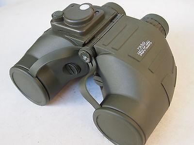 Military marine / nautic binoculars 7X50 with illuminated compass