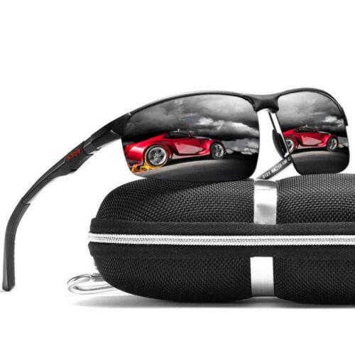 Aluminum Polarized Photochromic Sunglasses Men Chameleon Driving Sports Glasses