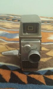 Vintage-Bell-Howell-Electric-Eye-ASA-10-8mm-Movie-Camera-Working-w-10mm-f-2-3
