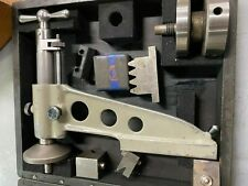 Used Maag Machinist Rack Shaper Tool Setter 53714 And Tooling With Storage Box
