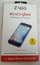 OEM Inbox ZAGG Glass for Apple iPhone 5 5s SE - Clear Full Screen