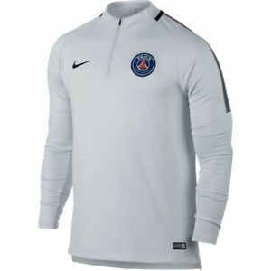 new styles f5b5d a194e Nike Paris Saint German PSG 2017 - 2018 MidLayer Soccer LS ...