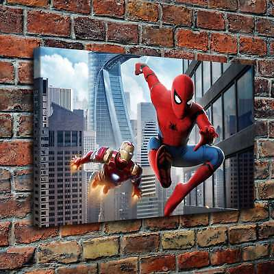 Superheroes Spider-Man Painting HD Print on Canvas Home Decor Wall Art Poster