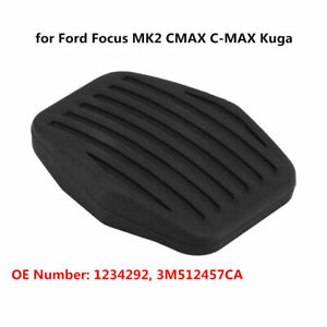 Car-Rubber-Brake-Clutch-Pedal-Pad-for-Ford-Focus-MK2-CMAX-C-MAX-Kuga-1234292