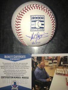 045e567fdc2 Harold Baines HOF 19 WHITE SOX Signed Hall of Fame Baseball BECKETT ...