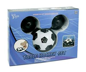 Table-Hockey-Set-Hover-Football-with-Goal-Posts