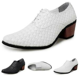 Details about  /38-44 Mens Dress Formal Business Leisure Shoes Pointy Toe Work Office Oxfords L