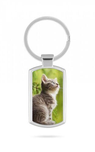 Schlüsselanhänger Katze Cat Tier  V12
