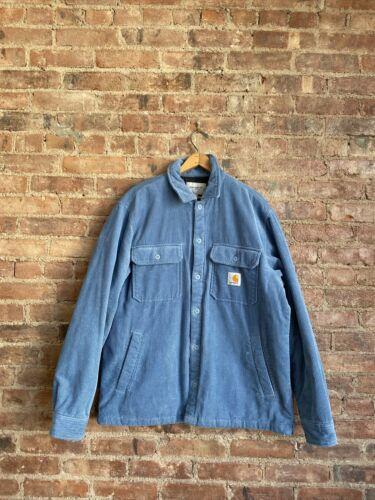 Carhartt WIP Men's Corduroy Jacket, Size Large Blu