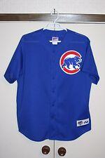 Majestic Chicago Cubs VTG 90's BP Baseball Mesh Jersey XL Sosa Carey Sewn MLB NL