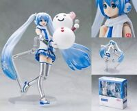 Max Factory Figma EX 016 Vocaloid 01 Miku Hatsune Snow Miku ver. action figure