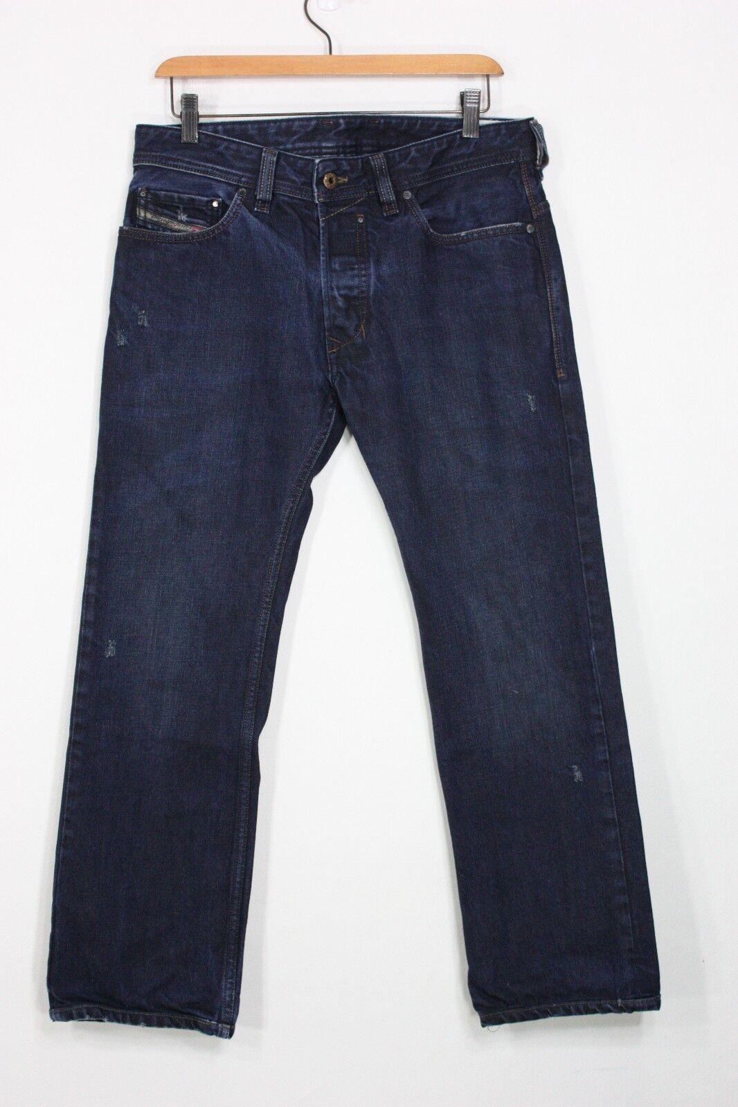 87ada98a02502 Diesel Safado 0806X 3D jeans 31 x 27 slim straight bluee denim noswsl3824- Jeans