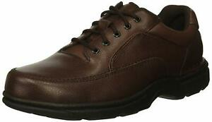 Rockport-Mens-Eureka-Leather-Lace-Up-Casual-Oxfords-Brown-Size-8-0-0ZO2