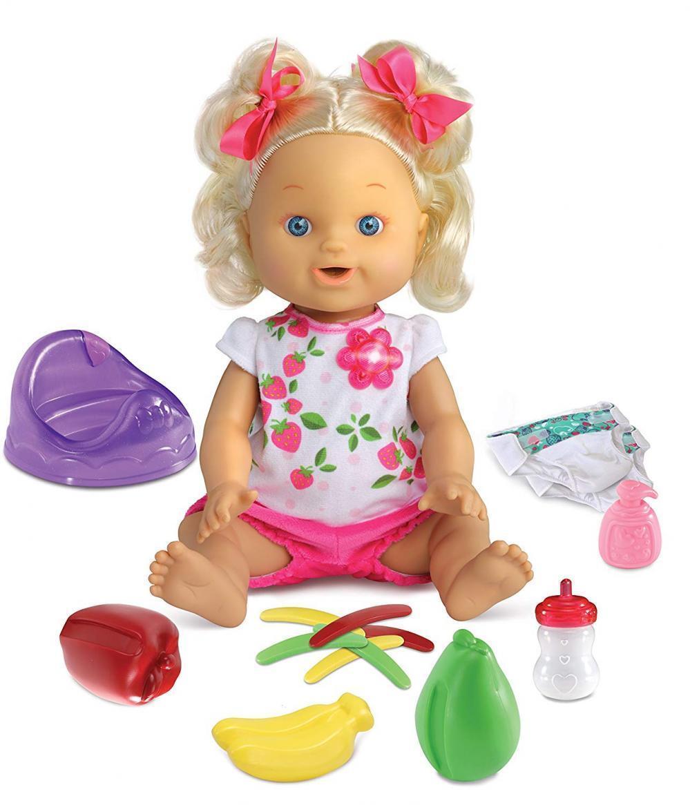 Vtech 80-179804 Little Love-Lina mit Toepfchen Spielzeug Puppe für Mädchen ab 3