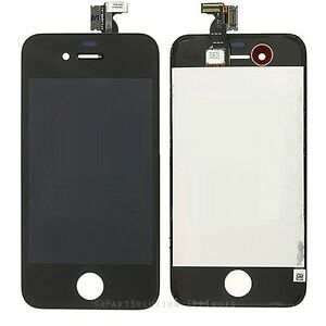 iPhone-4S-Black-Front-LCD-Display-Screen-Touch-Digitizer-Assembly-Frame