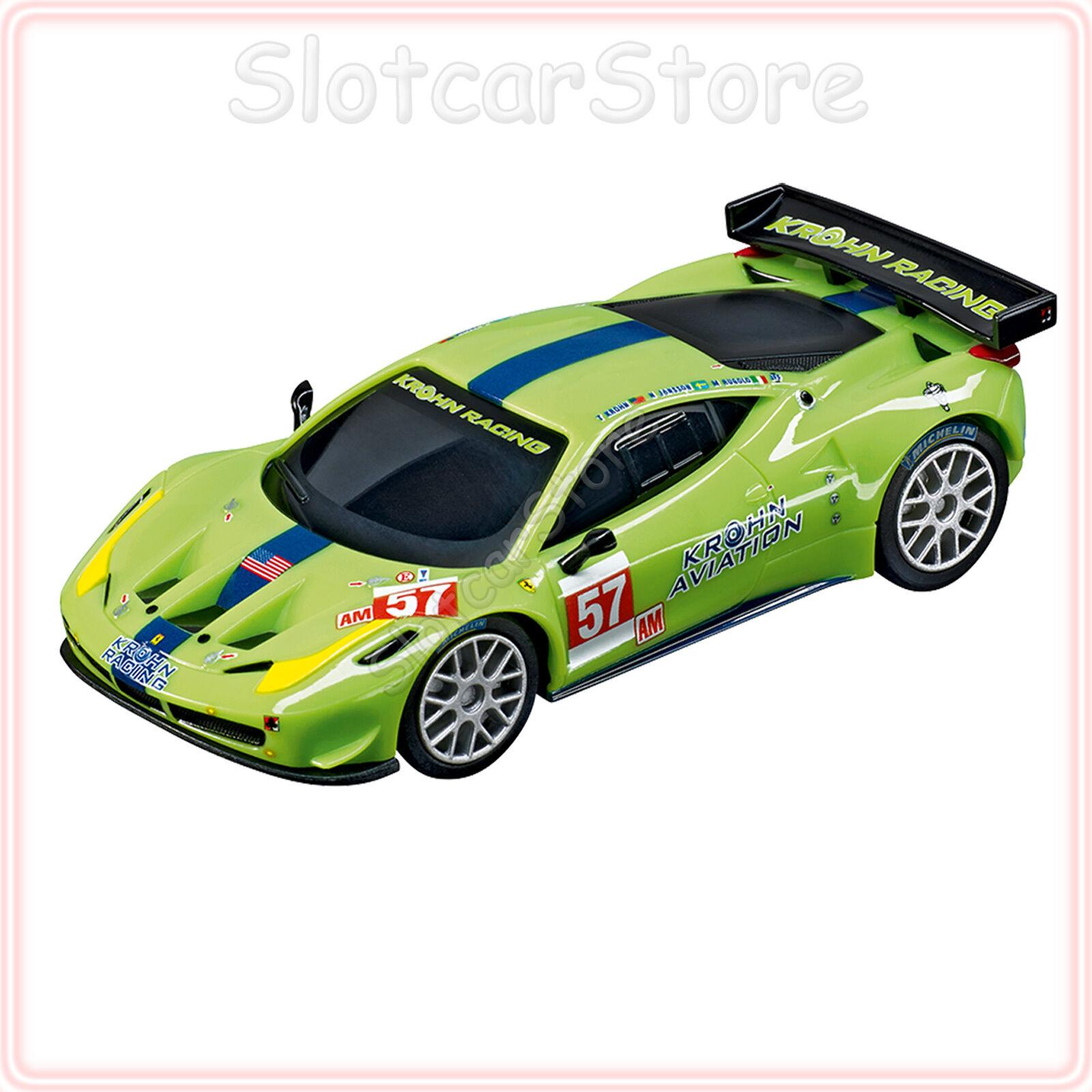 """Carrera GO 64053 Ferrari 458 Italia GT2 /""""AF Corse No.51/"""" 1:43 Slotcar Auto Plus"""