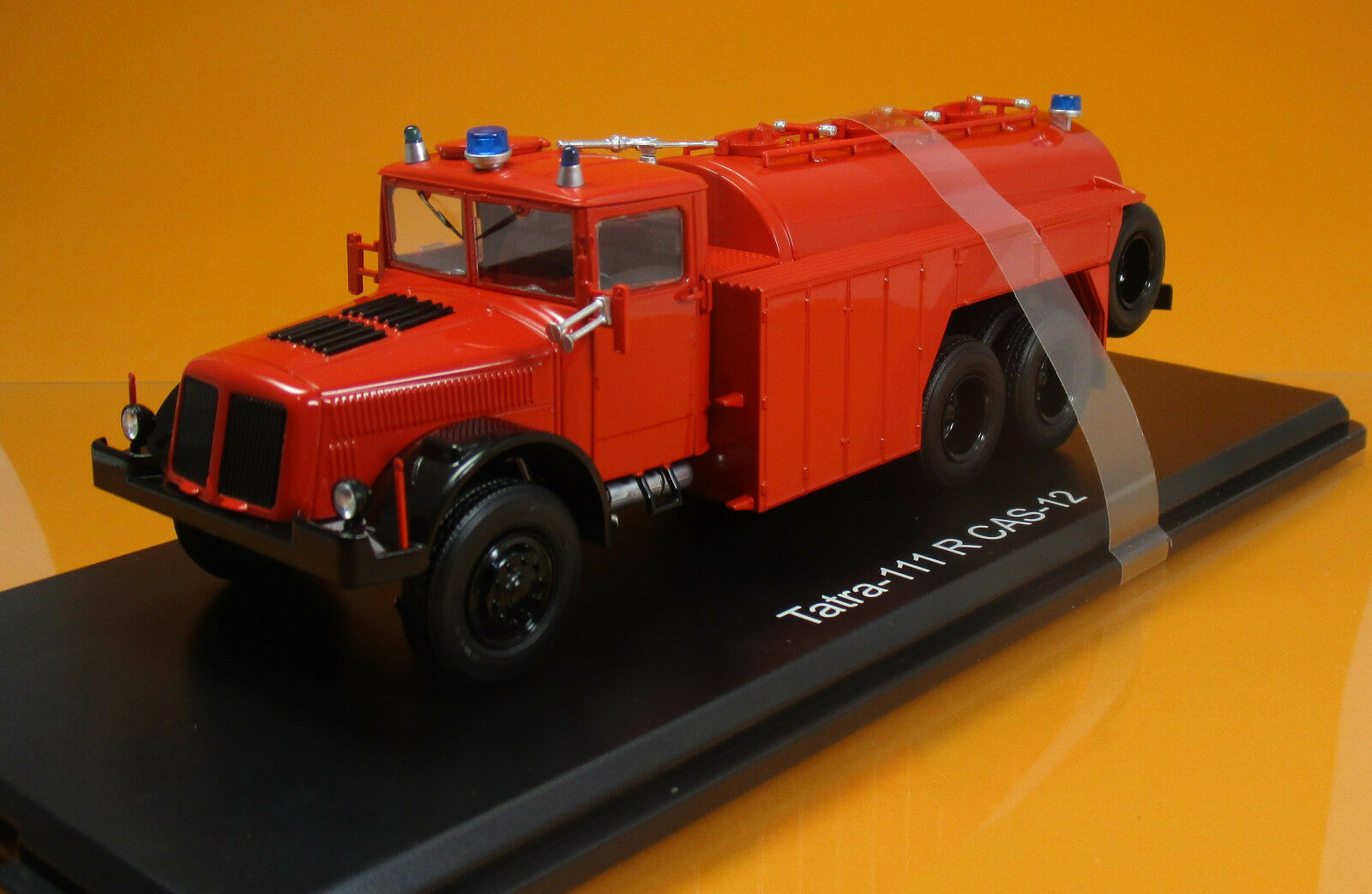 Herpa 83ssm1309 TATRA 111 C Tanklösahrzeug pompiers scale 1 43 NOUVEAU neuf dans sa boîte