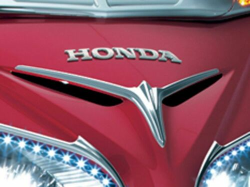 Kuryakyn Chrome Eyebrow Trim Accents Upper Fairing Scoop Vent Honda Goldwing F6B