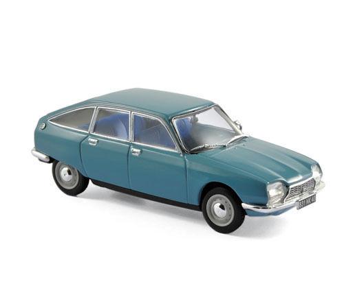 NOREV 158217 Citroën GS 1971 - Camargue Blue 1:43 suberb detail