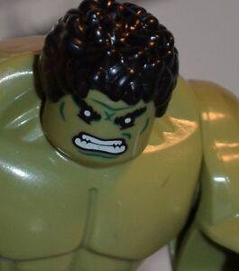 FF2 Custom made for LEGO blocks The HULK incredible Avengers USA MARVEL