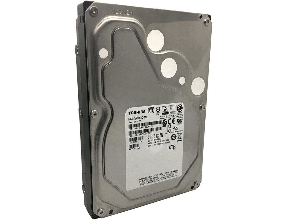 """New Toshiba MG04ACA200N 2TB 64MB 7200RPM SATA 6.0Gb//s 3.5/"""" Internal Hard Drive"""