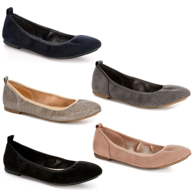 XAPPEAL Womens Clair Slip On Ballet Flat Shoes