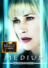 MEDIUM - COMPLETE SEASONS - DVD - REGION 2 UK