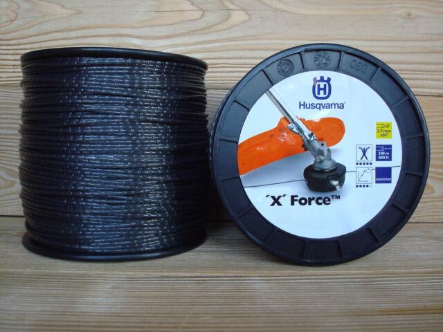 HUSQVARNA Profi Mähfaden `X`Force 2,7 mm ; 240 m Rolle