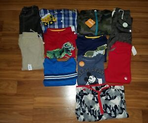 Details about NWT Boy's Fall/ Winter Clothes Lot ~ Size 4/4T~ Brand Names  Pants L/S Shirts