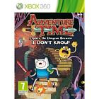 Adventure Time: Explore the Dungeon Because I Don't Know (Microsoft Xbox 360, 2013) - European Version