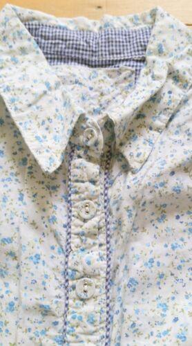 gilet verde Successivo cardigan fidanzato blu S cotone s M floreale Abito camicia Uxqg4T