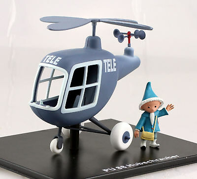Originale Sandmann - Pu 88 Hubschrauber Elicottero Tele - Atlas Edition Nuovo