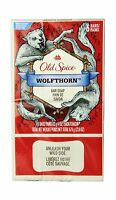 Old Spice Wild Collection Wolfthorn Men's Bar Soap 6 Count 6ct ... Free Shipping