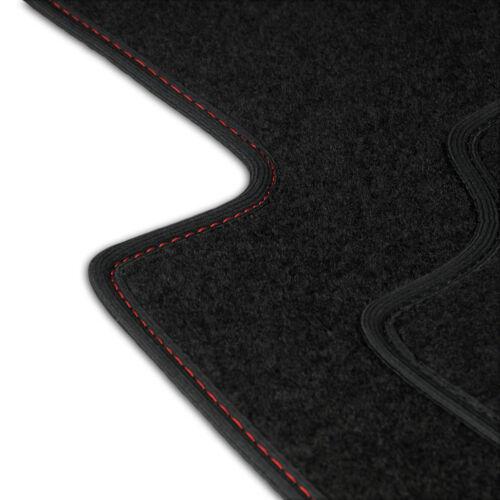 Fußmatten Auto Autoteppich passend für Peugeot 307 CC 2003-2009 Set CACZA0302