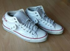 CONVERSE ALL STAR CHUCKS PC 2 MID OPTICAL WHITE LEATHER SHOES SIZE UK 7.5 EU  41