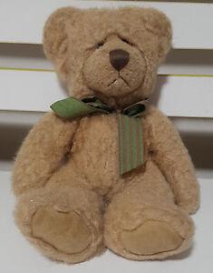 RUSS-BERRIE-BARRINGTON-TEDDY-BEAR-PLUSH-TOY-SOFT-TOY-23CM-TALL