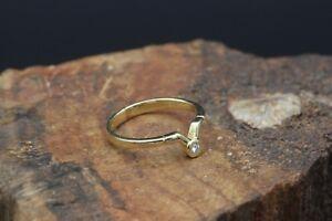 Quinn-585er-Gelbgoldring-mit-einem-Diamanten