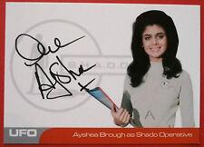 UFO - AYSHEA BROUGH (AB2) - Shado Operative - VERY LIMITED Autograph Card