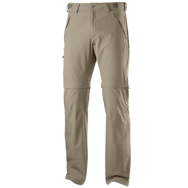 Salomon Wayfarer Zip Pant Men's Trekking Trousers Outdoor Removable Legs