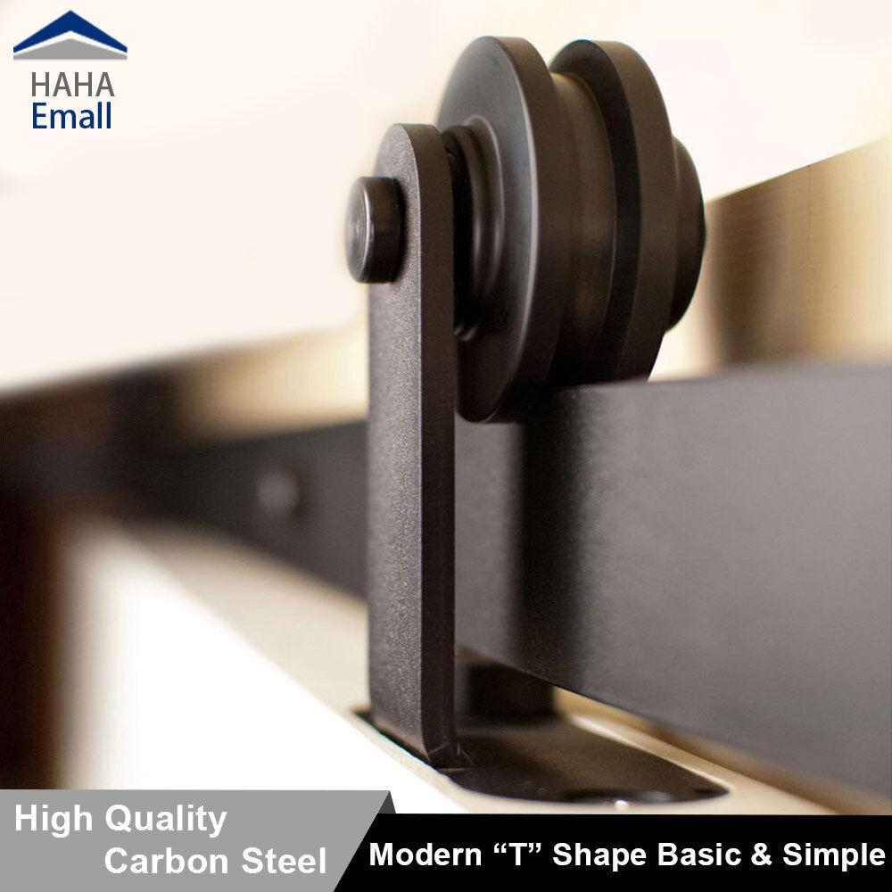 150 488cm Modern Sliding Barn Wood Door Hardware T Shape