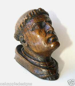 Monk-039-s-Head-Medieval-Reproduction-Carving-Exeter-Cathedral-Chapel-Church-Gift