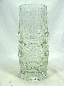 RARE-HERMANOVA-GLASSWORKS-DRAGON-S-HEAD-VASE-FRANTISEK-PECENY-BOHMEN-15-cm