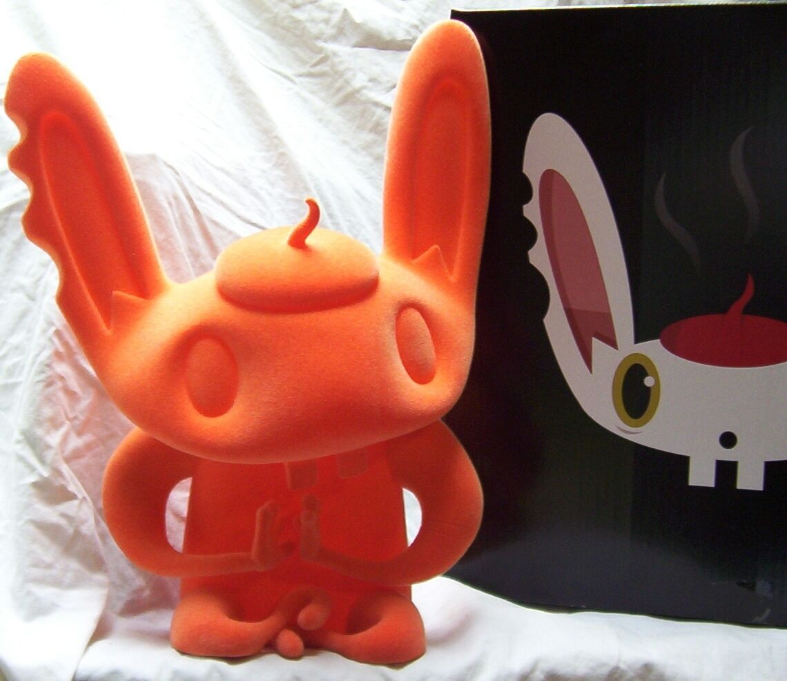BUNNIGURU orange SCARYGIRL SCARY GIRL Bunny Rabbit only only only 150 nathan jurevicius 2e6b40