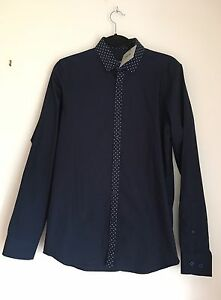 Asos-Navy-Blue-Shirt-Size-UK-S-Chest-36-39-inch-New