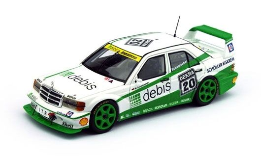 MERCEDES Benz 190 e evo2  20 Debis M. Schumacher DTM 1991 1 43 Model