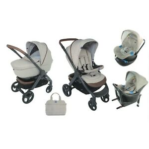 Image Is Loading CHICCO Stroller Trio StyleGo Up Beige 0 3A