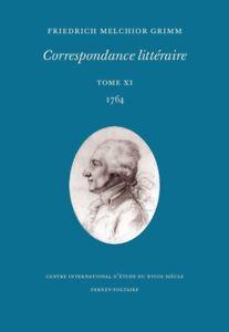 Grimm-Correspondance-litteraire-tome-11-1764