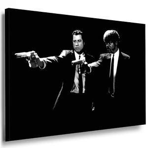 Bild Leinwand mit Keilrahmen Pulp Fiction Bilder Kunstdruck Wandbild Poster 150c